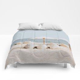 summer beach ii Comforters