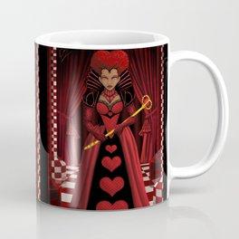 Ebony Queen of Hearts  Coffee Mug