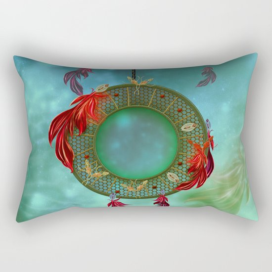 Wonderful dreamcatcher Rectangular Pillow