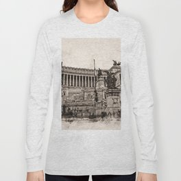 Altar of the Fatherland, Rome Long Sleeve T-shirt