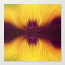 Tulips Twirled Canvas Print