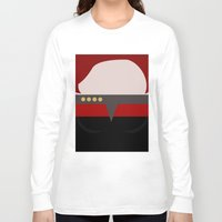 arsenal Long Sleeve T-shirts featuring Captian Katherine Janeway - Minimalist Star Trek: Voyager VOY - trektangle - startrek trektangles by Trektangles
