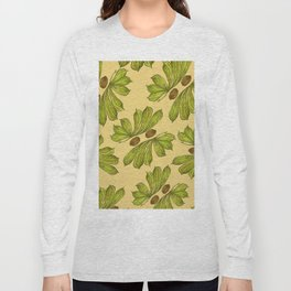 Botanical Leaves Long Sleeve T-shirt