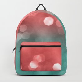 Summer Vibes Bokeh #1 #shiny #decor #art #society6 Backpack