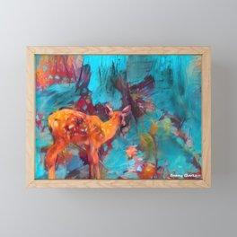 I Hear a Noise Framed Mini Art Print