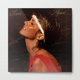 Olivia Newton-John - Physical - Album Cover Metal Print