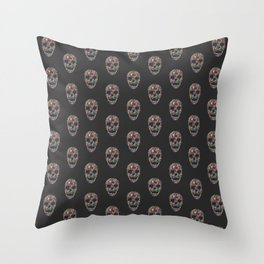 Under Your Skin in Glorious Technicolor Throw Pillow