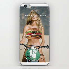 Do You Like It Fast? iPhone Skin