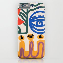 Eye for the flower iPhone Case
