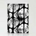 Black and White Abstract by oddduckpress