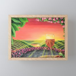 Wine Time in the Ferguson Framed Mini Art Print