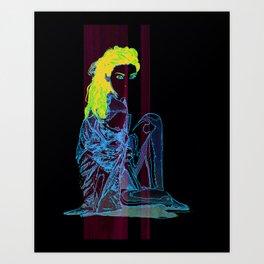 """Codename: Susan Glenn"" Art Print"