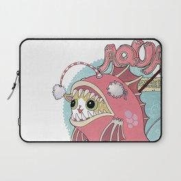 Aqua cat_Muka Laptop Sleeve