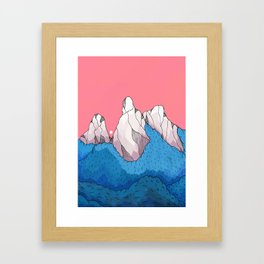Mount forestmore Framed Art Print