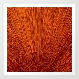 Electroshock Rust Art Print
