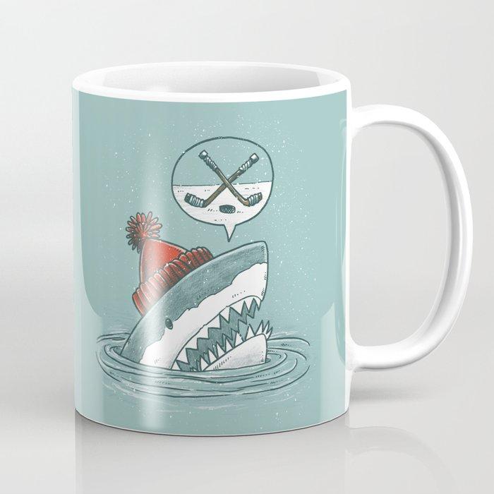 Hockey Shark Coffee Mug