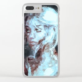 Ciri The Witcher Clear iPhone Case