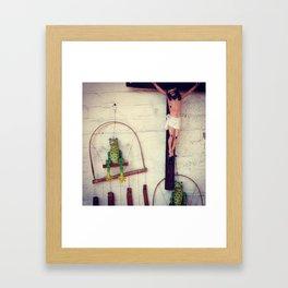 Hanging Side-by-Side Framed Art Print