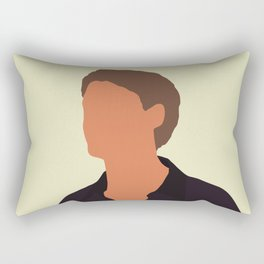 Ponyboy Curtis The Outsiders 80s movie Rectangular Pillow