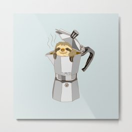 Slopresso Metal Print