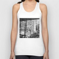 lincoln Tank Tops featuring Lincoln Center by Emily Werboff