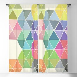 Fragmented Blackout Curtain
