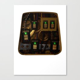 Zane's Chest Plate Canvas Print