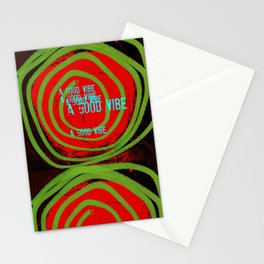 « a good vibe » Stationery Cards
