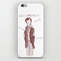 benedict iPhone & iPod Skins featuring Eggs Benedict? by Samuel C Williams
