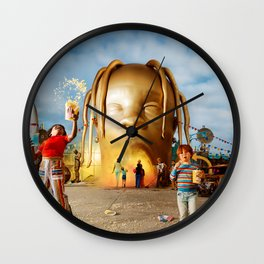 Travis Astroworld Scott Wall Clock