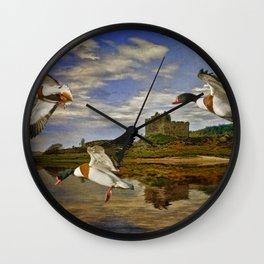 Shelduck on a Scottish Loch Wall Clock
