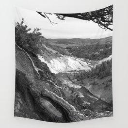 Yellowstone River At Lava Creek Wall Tapestry