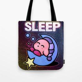 Kirby Sleep Tote Bag