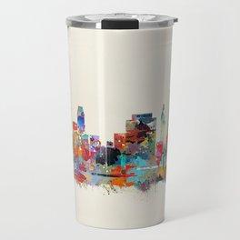 Tulsa Oklahoma skyline Travel Mug