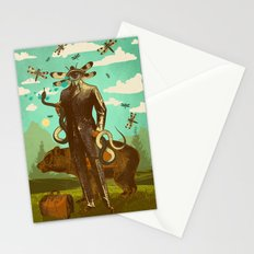THE SNAKE WRANGLER Stationery Cards