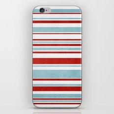 Christmas Stripes iPhone & iPod Skin