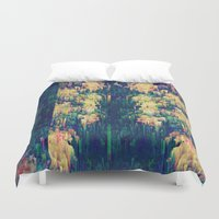 scandal Duvet Covers featuring Remedy with consequences by Alix Rumble