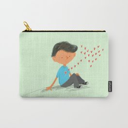 Boy in Love Carry-All Pouch