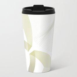 Elegant minimalist illusion Travel Mug