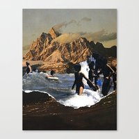 breaking Canvas Prints featuring Breaking by Lindsey Boss