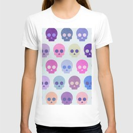 Colorful Skull Cute Pattern III T-shirt