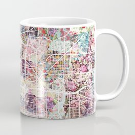 Akron map Coffee Mug