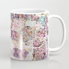 Akron map Coffee Mug