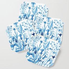 Blue Wildflowers Coaster