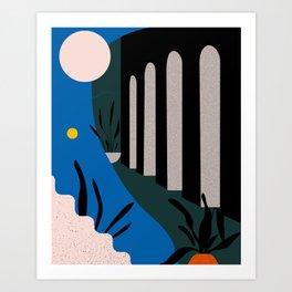 Chania Art Print