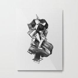 My Humble Throne Metal Print
