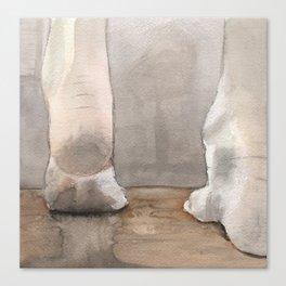 Heels Canvas Print