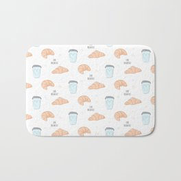 Love breakfast Bath Mat