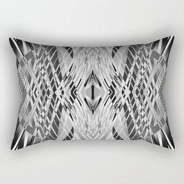 PRETTY BLACK & WHITE LINE PATTERN Rectangular Pillow