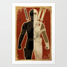 Blood Brothers Art Print